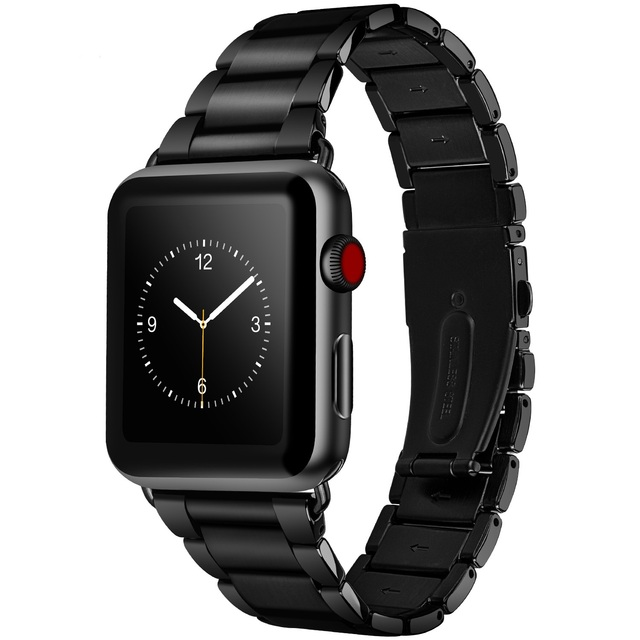 Original HOCO New 316L Stainless Steel Strap for Apple Watch Series 4/3/2/1  Watch Band for iwatch 44mm 42mm 40mm 38mm   Fotoflaco.net