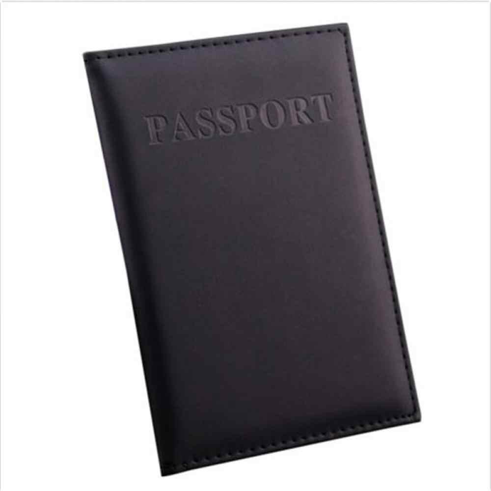Reizen Paspoort Cover Utility Eenvoudige Paspoort ID Card Cover чехол на паспорт Lederen Paspoort Portemonnee обложка на паспорт