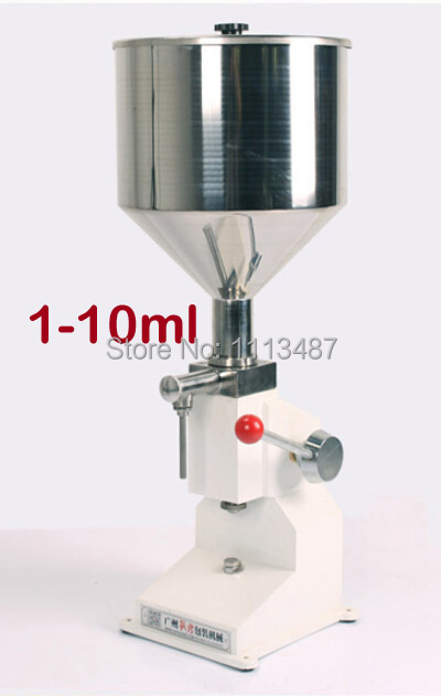 High Quality Manual Paste & Liquid Filling machine Filler 1-10ml A03M high quality pneumatic cosmetic paste liquid filling machine cream filler 1 10ml