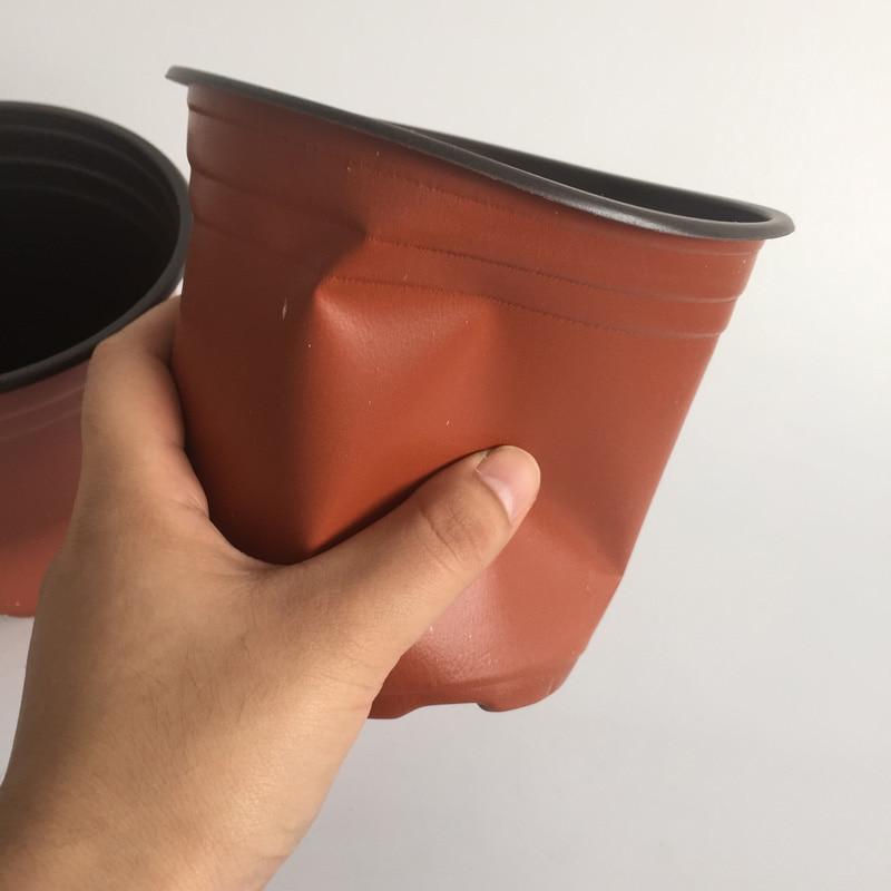 D13xh12cm 100pcs Lot Plastic Nursery Pots Small Pot