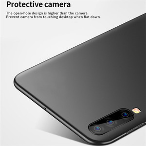 Image 5 - Voor Samsung Galaxy A70 Case Shockproof Silm Luxe Ultradunne Smooth Hard PC Telefoon Case Back Cover Voor Samsung galaxy A70 Fundas