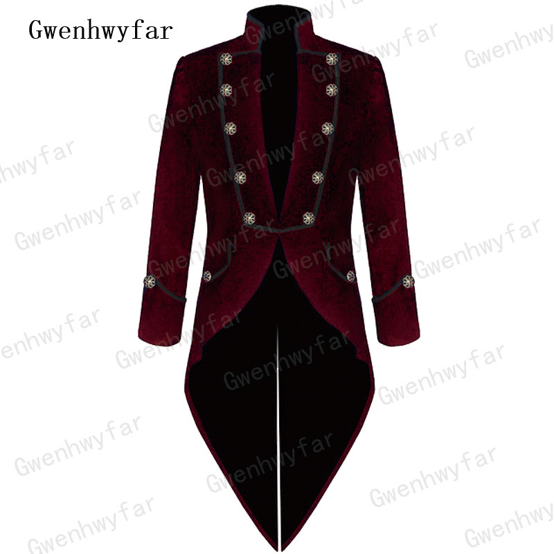 Gwenhwyfar ファッションブルゴーニュベルベット男性スーツスリムフィットイタリア燕尾服新郎タキシード男性の結婚式ウエディングはジャケットパンツ 2 ピース 2018  グループ上の メンズ服 からの スーツ の中 1