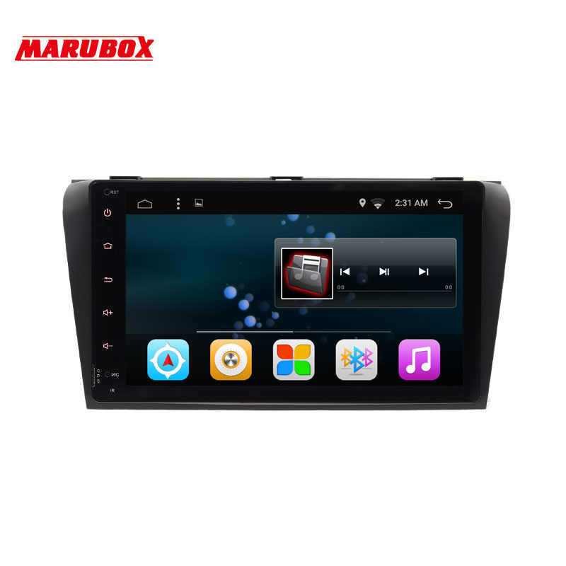 "Marubox 9A701A4 Car Multimedia Player For MAZDA3 2003-2009 Android 7.1 Quad Core 9"" Navigation Radio Steering wheel BT WiFi"