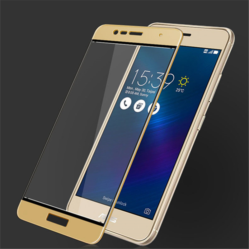 Image 2 - 3D Tempered Glass For Zenfone 3 Max ZC520TL Full Screen Cover Screen Protector Film For ASUS X008D-in Phone Screen Protectors from Cellphones & Telecommunications