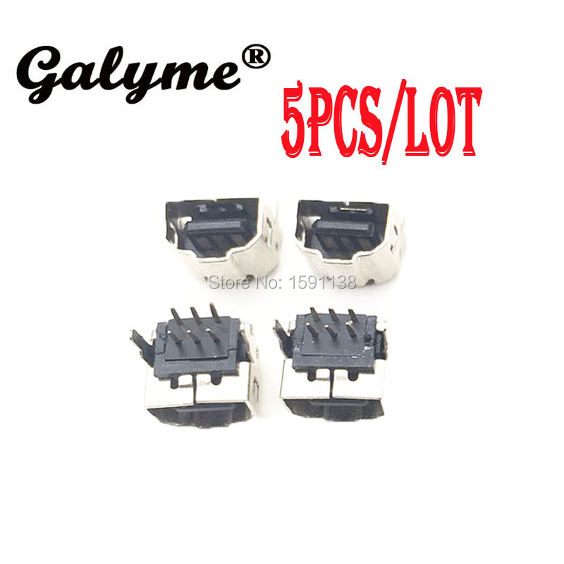 Hot Sale 5pcs/lot Fit GBASP Power Connector Jack Charging Port Link Socket For GameboyGB Advance SP Game Console Boy Handheld