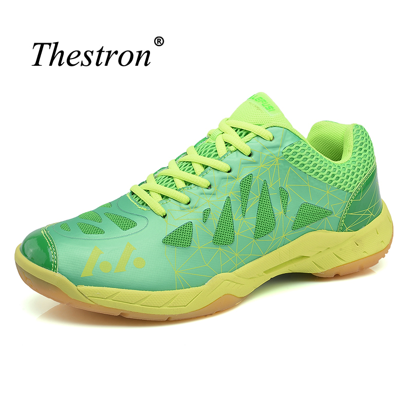 Thestron Indoor Sneaker Sport Wear-Resistant Badminton Shoes For Men Top Quality Badminton Shoe Boys Super Cool Sneakers Adult
