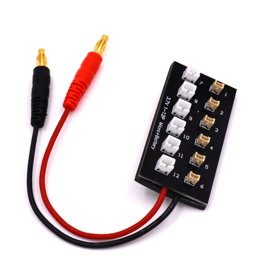 HOBBYMATE Lipo Battery Charging Board 1S Ultra Micro & JST-PH Parallel Connect Plate for Blade Inductrix Glimpse mCP X Nano QX dali 17 1 1а