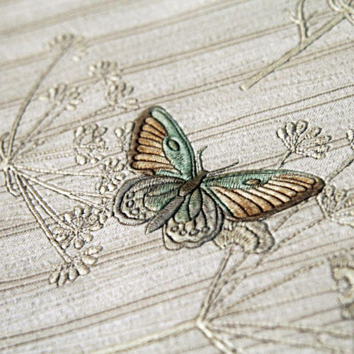 High-end butterfly embroidery 3D carved three-dimensional thickened wallpaper living room background wall paper marble 3d three dimensional wall stickers self adhesive renovation brick pattern living room background dzas lq wallpaper