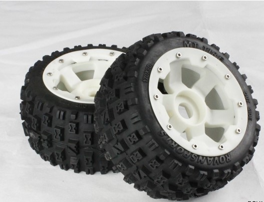 5B Rear knobby wheel set with nylon super star wheel For 1/5 HPI Baja 5B 5T elie saab пиджак