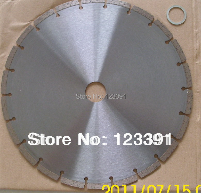 Promotion sale of 1pc silver welded diamond saw blades 400*50/25.4 *12mm for marble/concrete/granite/limestone cutting