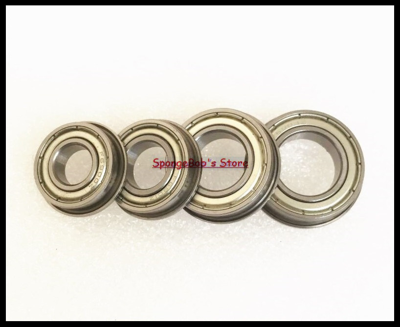 30pcs/Lot F6900ZZ F6900 ZZ 10x22x6mm Flange Thin Wall Deep Groove Ball Bearing kq2zs10 01s kq2zs10 01s fittings kq2zs10 01s pipe joint