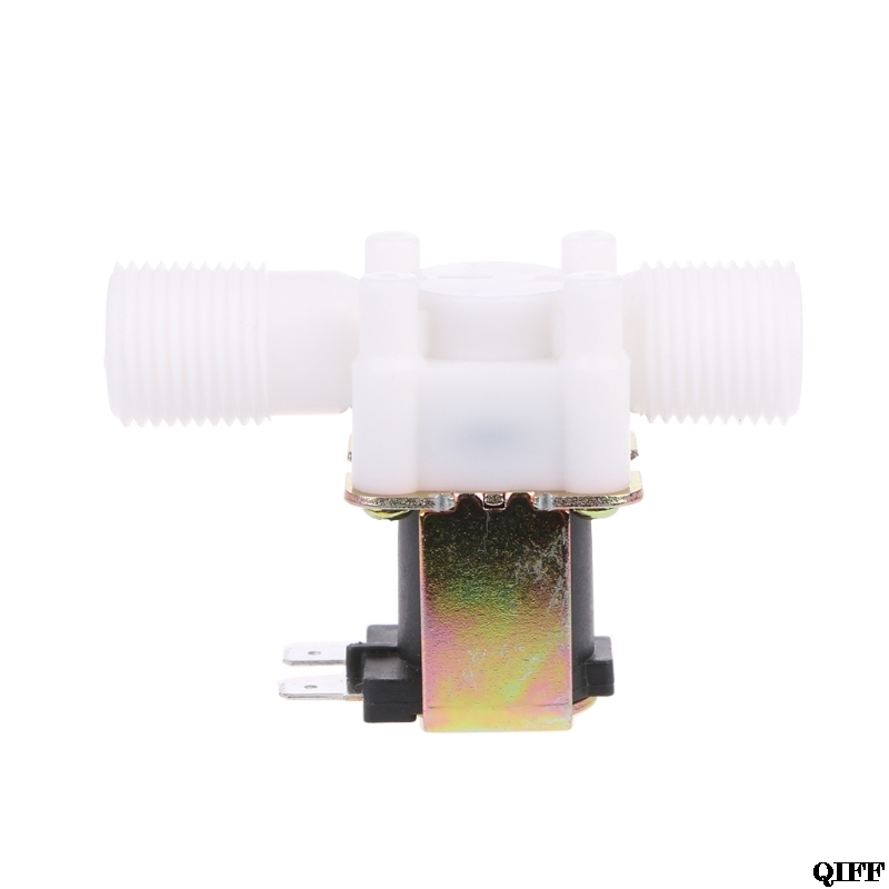 Dropshipping Electric Solenoid Valve Magnetic N/C Water Air Inlet Flow Switch 1/2