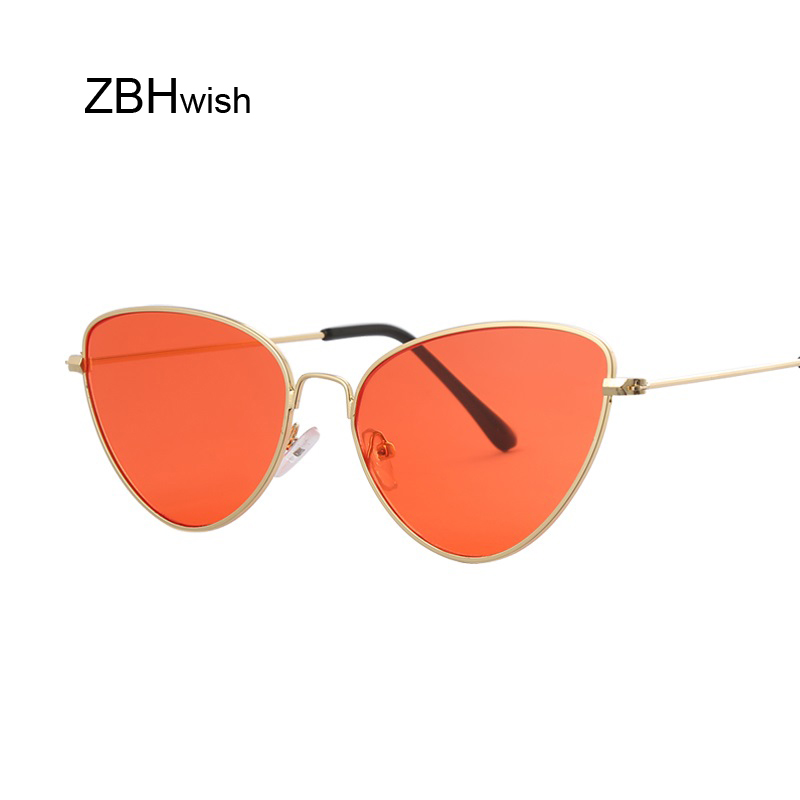 Fashion Red Sunglasses Women Brand Designer Luxury Cat Eye Sun Glasses For Women Cool Retro Female Sunglasses Oculos Gafas