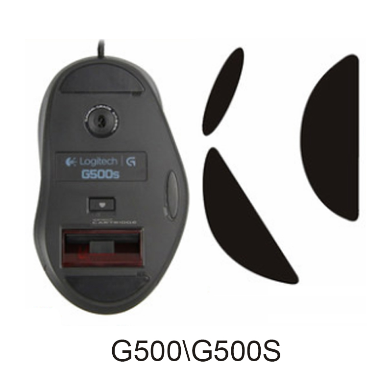 Mouse <font><b>Feet</b></font> for Logitech <font><b>G700</b></font> G700S / G600 / G500 G500S MX1000 / MX5000 / MX610 / MX620 0.6MM 3M Teflon 1set image