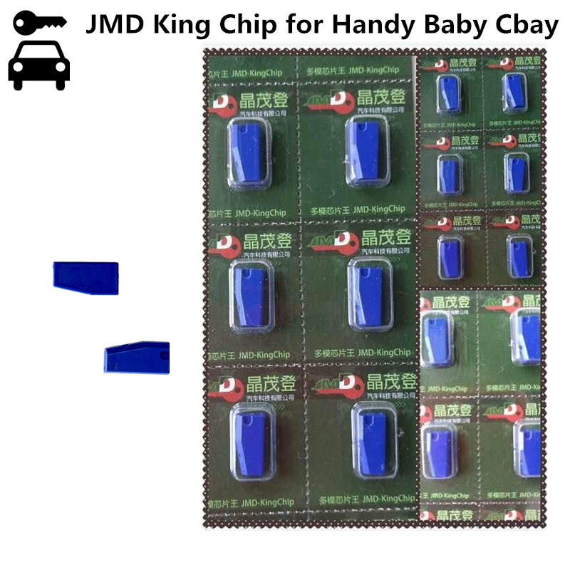 Original Quality A+++ Locksmith Handy Baby Cbay Key Programmer JMD King Copy Chip Copier to Clone 46/4C/4D/G/T5 Transponder 10pcs lot original jmd king chip jmd handy baby key copier jmd chip for cbay clone id46 4c 4d g unlimited copy chip
