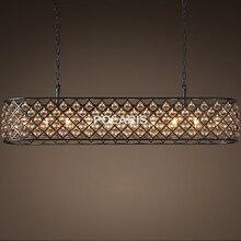 Luxury Vintage Tear Drop Crystal Chandelier Lighting Pendant Hanging Light Chandeliers Lamp for Home Villa Restaurant Decor
