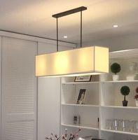Optima Lighting Nordic NEW Modern Minimalist American Style Living Room Linen Linen Cloth