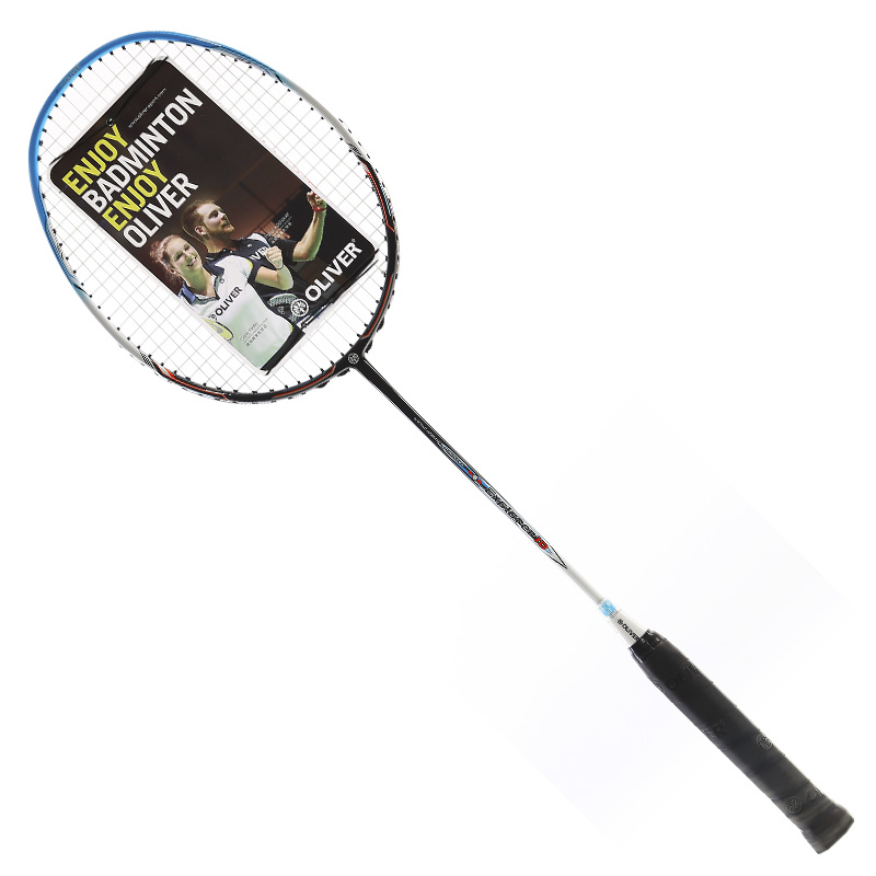 Oliver Badminton Racquets Professional Lightweight Explorer10 With Carbon Fiber String 20-24LBS  Customizable Range 18-30LBS