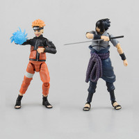 1pc/lot Full Movable Joint Naruto Figure SHF Figuarts Sasuke/Naruto Collectible Action Figures Toys Figuarts Figurine With Box