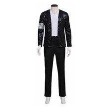 Майкл Джексон сцена Костюмы играет костюм Bling стоимость куртка костюмы Ролевая игра Одежда для танцев Наборы для ухода за кожей индивидуальный заказ