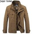 Бесплатная Доставка AFS JEEP бренд мужчины качество куртка пальто плюс размер M-XXXL военной верхней одежды пальто ветровка 200