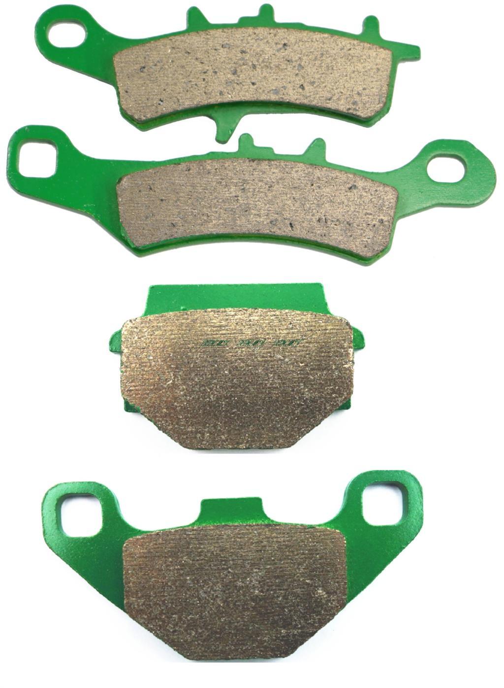 Disc Brake Pads Set For Kawasaki Klx250 Klx 250 H1 Super Sherpa 1998 1999 2000 2001 2002 2003 2004 2005 / Super Sherpa 2000 &Up