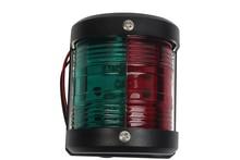 12V Marine LED Navigation Light Bi-Color Red Green Bow Side Sailing Signal Lamp