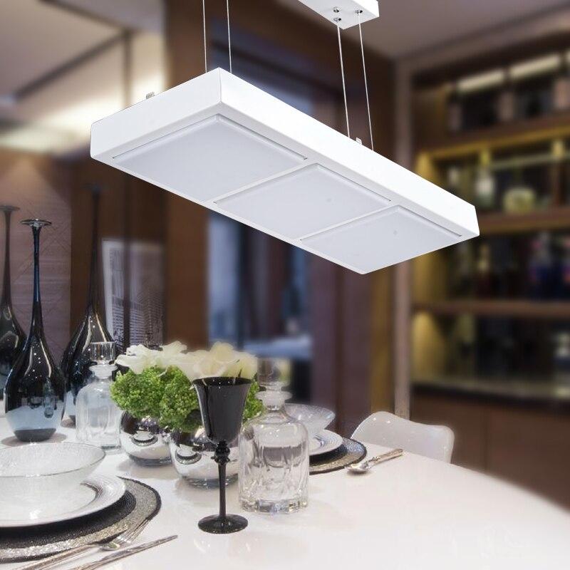 Aliexpress.com : Buy Modern Office Pendant Lights Acrylic Simple Modern  Living Room Pendant Lamp Rectangular Restaurant Tophams Hotel BG15 From  Reliable ...