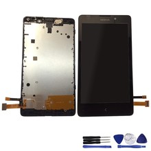 Original For Nokia XL LCD display digitizer + touch screen Complete +tools Free Shipping