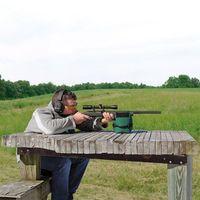 2017 Outdoor Draagbare Schieten Achter Gun Rest Tas Set Voor & Achter Rifle Doel Jacht Bench Ongevulde Stand Hunting Gun accessor