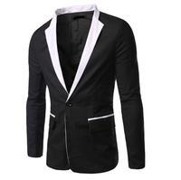 Fashion Formal Men Dress Suit Jacket Hot Sale White Black Men Tuxedo Jacket Men Tops Suit Jackets high quality
