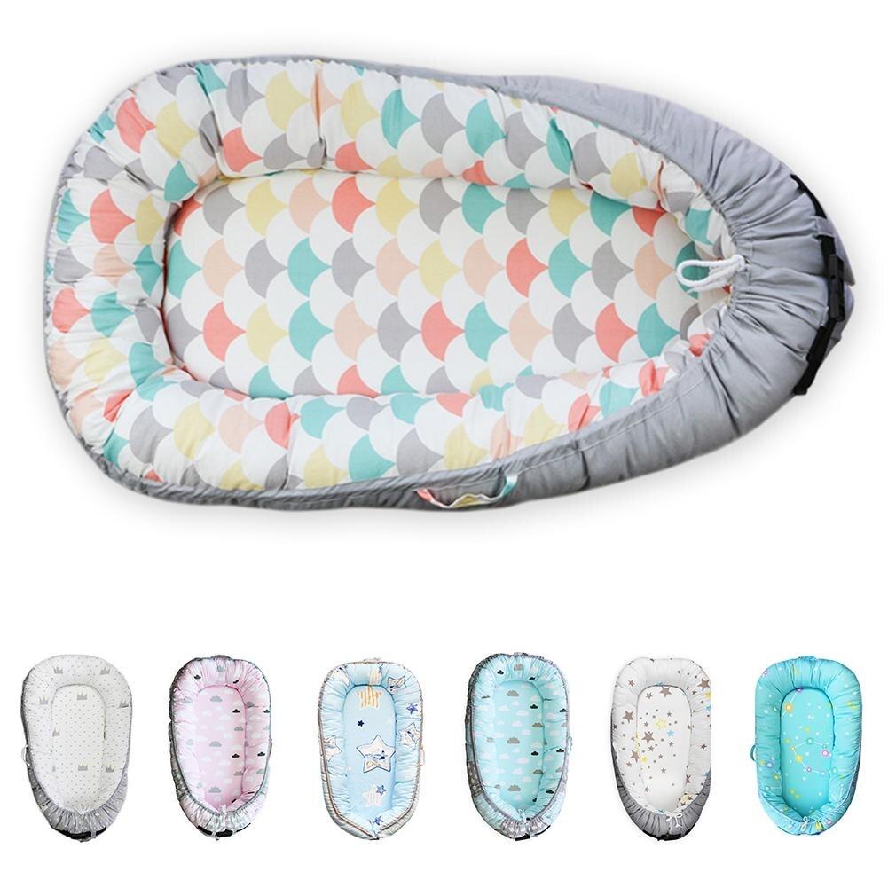 Hiver bébé nid berceau épaisseur lit bionique Portable bébé lit supprimer voyage berceau nouveau-né matelas coton berceau vide enregistrer