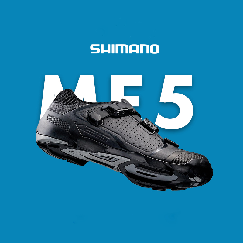 Shimano MTB SH ME5 Bicycle Shoes SPD SPD SL Cycling Shoes Trail Enduro Shoe Men's Mountain Bike M089