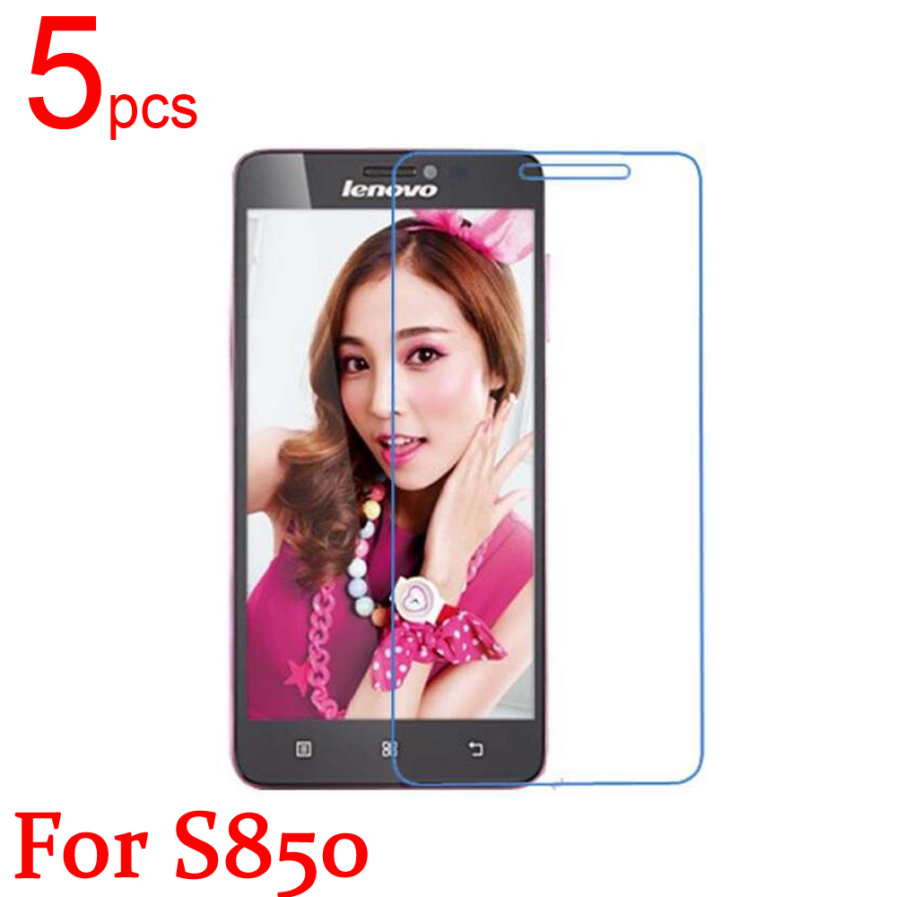 Systematic 5pcs Ultra Clear/matte/nano Anti-explosion Lcd Screen Protector Film Cover For Lenovo S850 S898 S820 S650 S660 S850 Back Film Pleasant To The Palate Mobile Phone Accessories