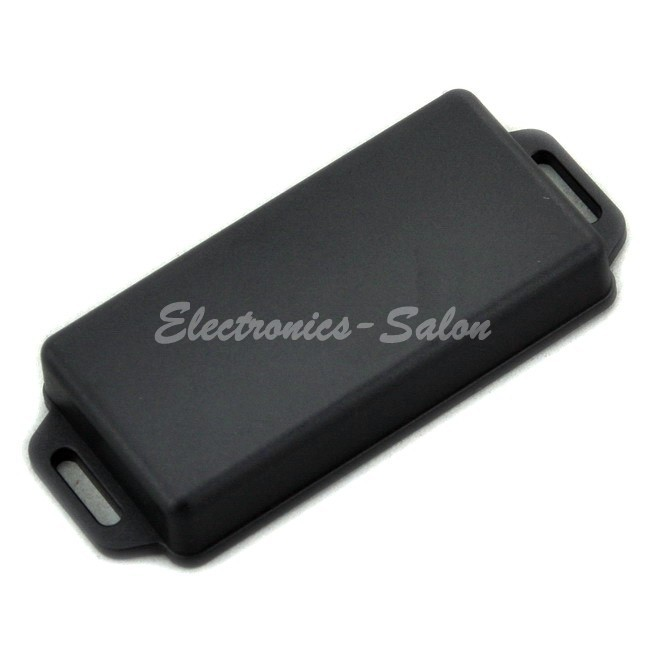 Small Wall-mounting Plastic Enclosure Box Case, Black, 81x41x15mm, HIGH QUALITY.