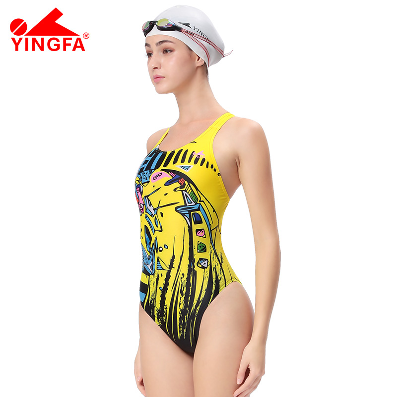 Yingfa swimwear swimming women swimsuits racing competition competitive swim suit girl trainning professional swimsuit for women yingfa children training swimwear kids swimming racing suit competition swimsuits girls professional swim solid child