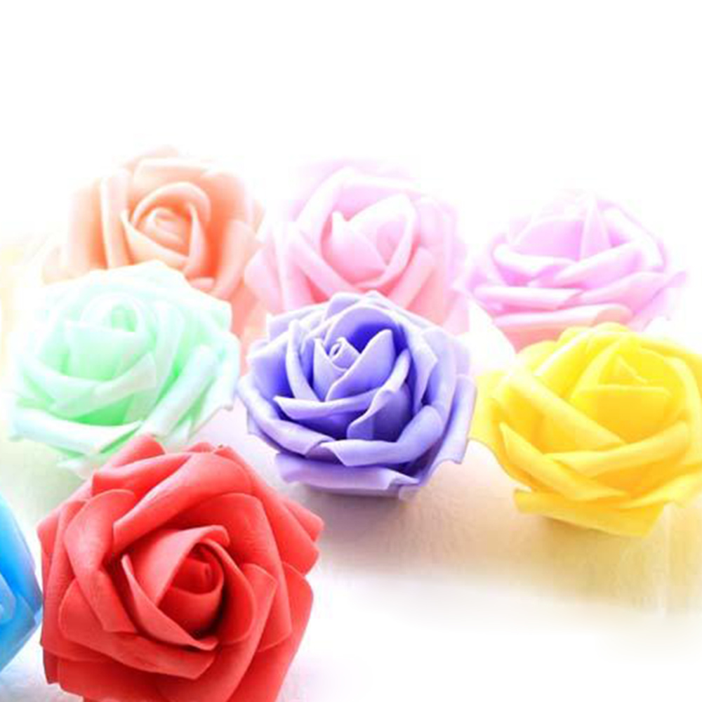 Online get cheap fake flower heads aliexpress alibaba group 20pcslot cheap mini pe foam rose flowers head for wedding decoration diy home decoration valentines day fake flowers hg0138w dhlflorist Images