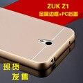 Para lenovo zuk z1 casos zuk z1 telefone armação de metal + tampa do pc de volta conjuntos de proteção lenovo casca fina by frete grátis