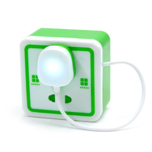 Socket style lamp piggy bank socket lamp Free Shipping / Jewel Case / Money Box