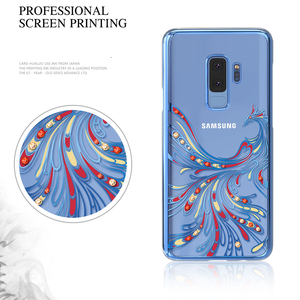 Image 5 - Original Kingxbar Diamond Case For Samsung S9 Cases Luxury Plated PC Crystals Rhinestone Case For Samsung Galaxy S9 Plus Cover