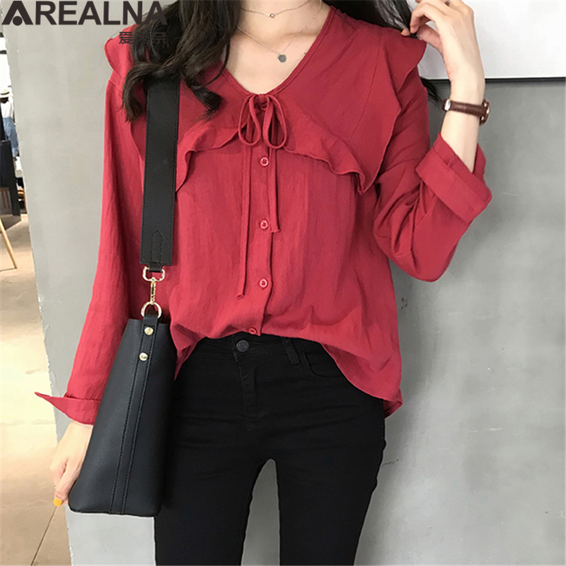 Kimono Cardigan Cotton Linen Peter Pan Collar Womens Tops and Blouses Tie Bow Shirt Loose Oversized Casual Ruffles Blouse Women 1