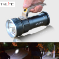 500M 2000 Lumens Long range Portable Searchlight LED Flashlight Cree R5 LED Waterproof Rechargeable Fishing Camping LED light