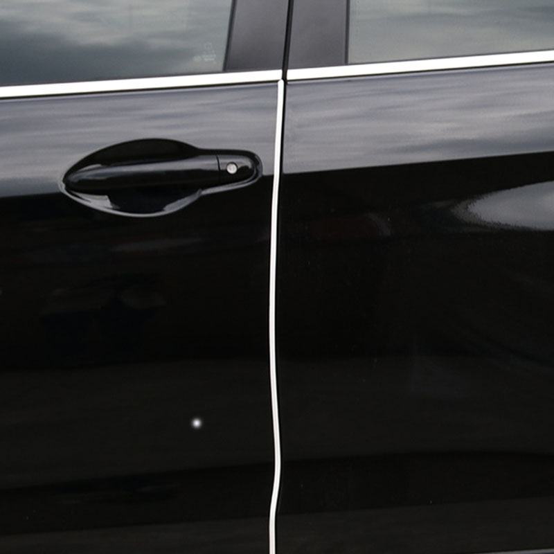 Amazing 5 Meter 3 Colors High Quality TPO Rubber Car Door Edge Lip Strip Guard Protector Moulding Simple Elegant - Best of door edge Review