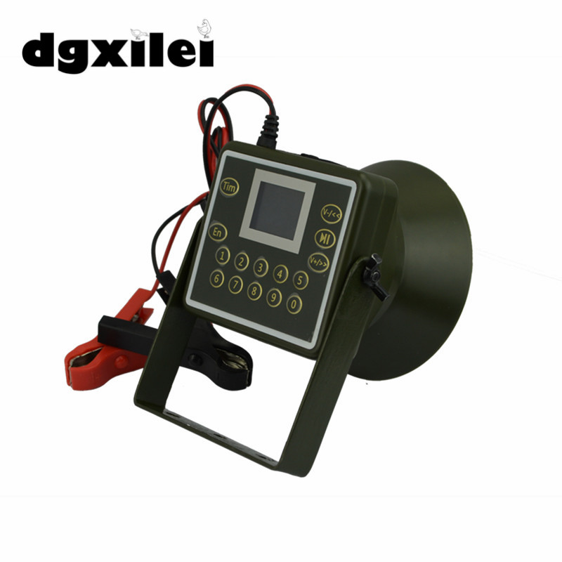 160dB 60W Hunting Speakers USB MP3 Bird Caller Duck Decoy Animal Bird Sound Calls Hunting USB Mp3 NEW GOOD 2017 xilei free shipping dc 6v 12v new arrivals animal trap decoy outdoor duck decoy motorized with spinning wings