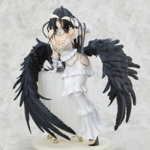 GZTZMY Overlord albedo Anime Cartoon Sexy girls Anime PVC Action Figures toy Anime figure Toys For Kids children Christmas Gifts