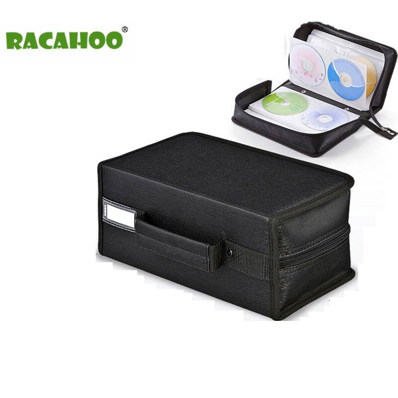 где купить RACAHOO CD Case High-quality Compression Easy to store CD Storage Package 160 discs Capacity CD or DVD disc Box по лучшей цене