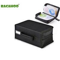 RACAHOO CD Case Hoogwaardige Compressie Gemakkelijk om winkel CD Opslag Pakket 160 discs Capaciteit CD of DVD disc Box