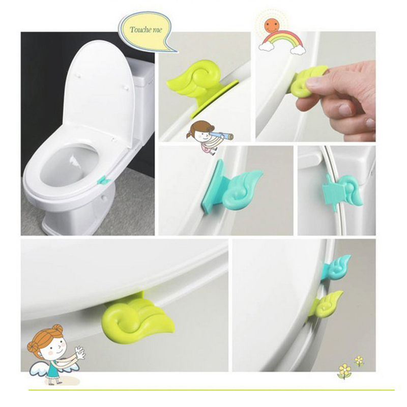 Toilet Accessories Cover Lifter Portable Sanitary Diy Home Garden Accessories  Toilet Bowl Seat Lift Handle Bathroom Products In Toilet Seat Covers From  Home ...