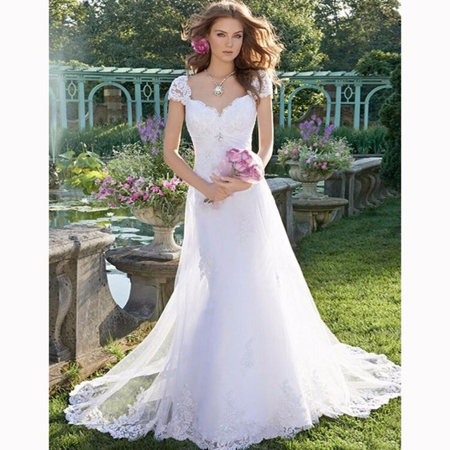 new arrival cap sleeve lace mermaid wedding dress plus size lace up ...