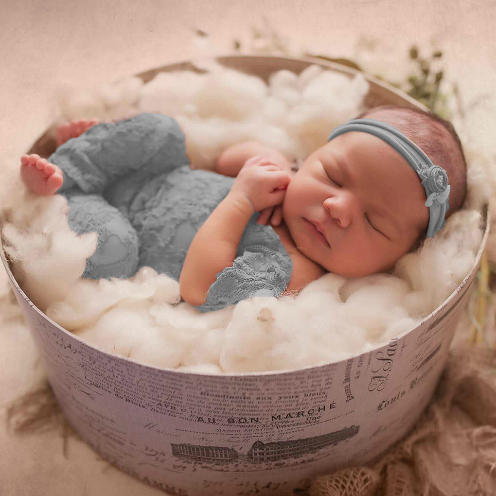 Новый реквизит для детской фотосъемки, кружевные комбинезоны для новорожденных девочек от 0 до 3 месяцев
